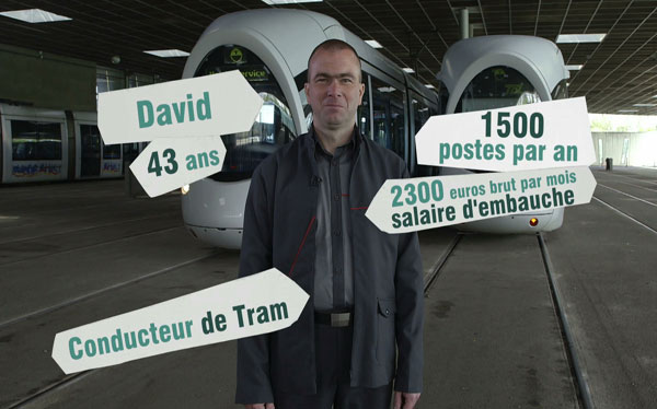 Conducteur de tramway