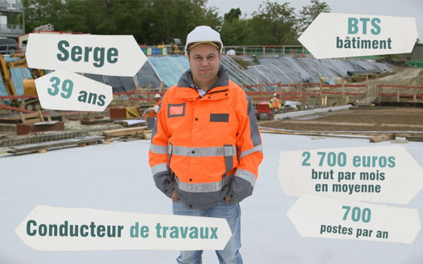 Conducteur de travaux